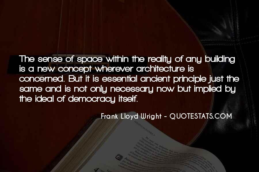 Space In Architecture Quotes #1784262