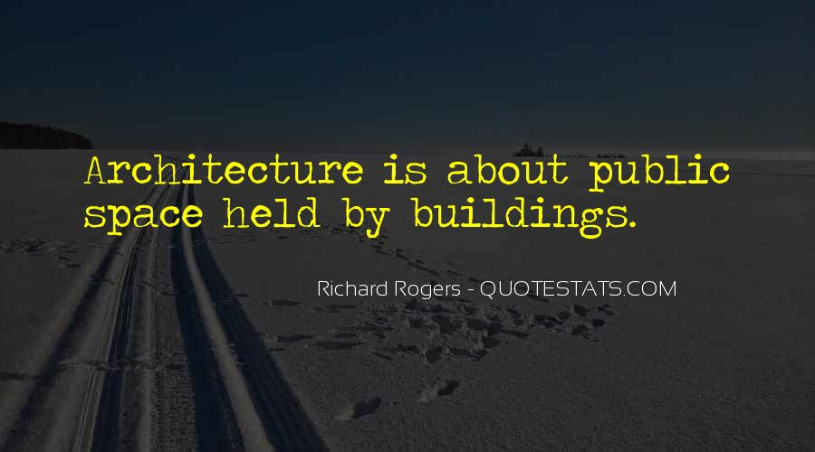 Space In Architecture Quotes #311373