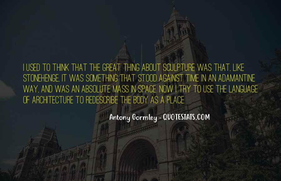 Space In Architecture Quotes #503157