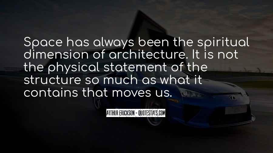 Space In Architecture Quotes #749432