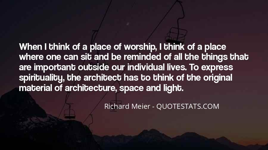 Space In Architecture Quotes #942028
