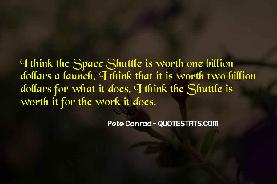 Space Shuttle Launch Quotes #190179
