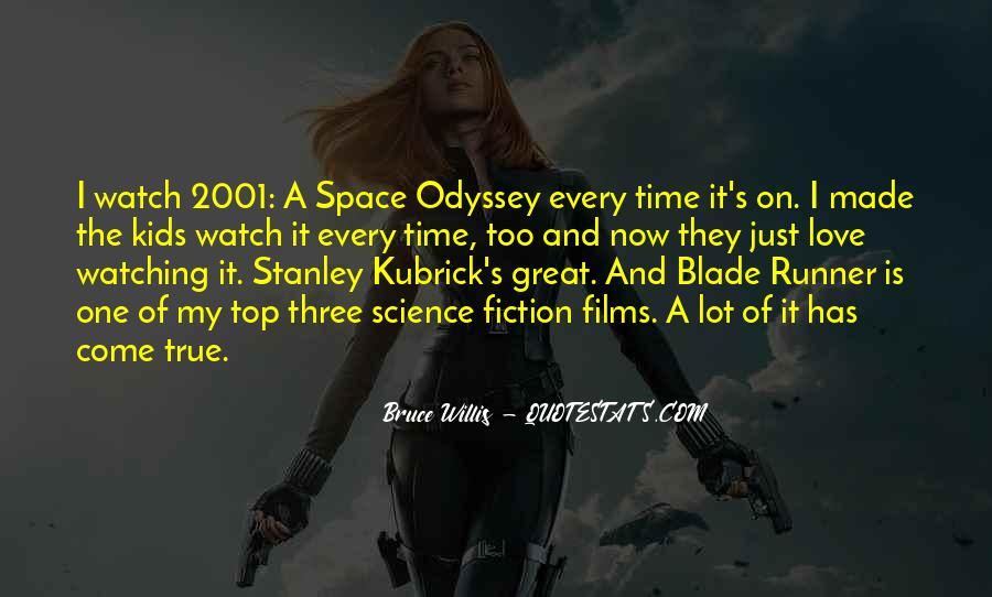 Space Time Odyssey Quotes #53783