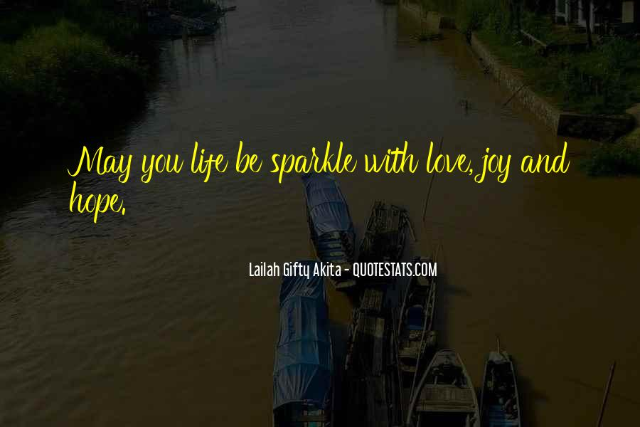 Sparkle Life Quotes #779703