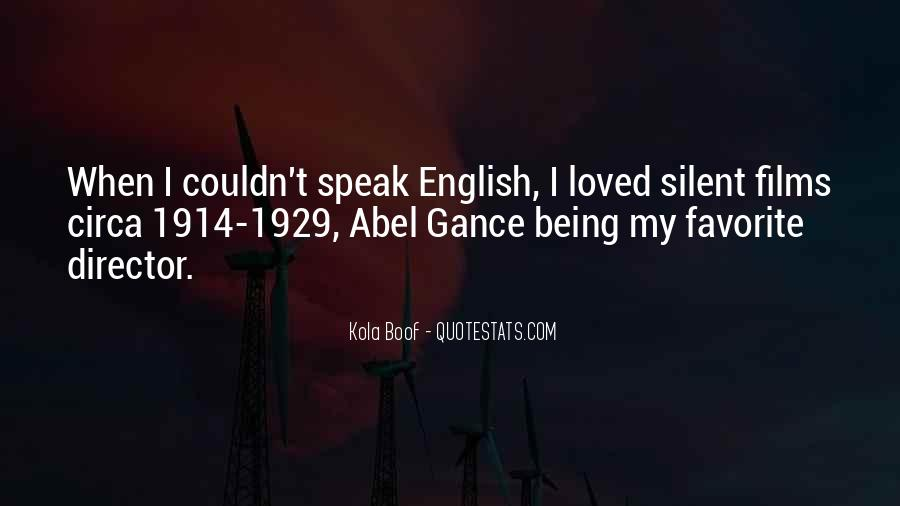 Speak Up For What You Believe In Quotes #7738