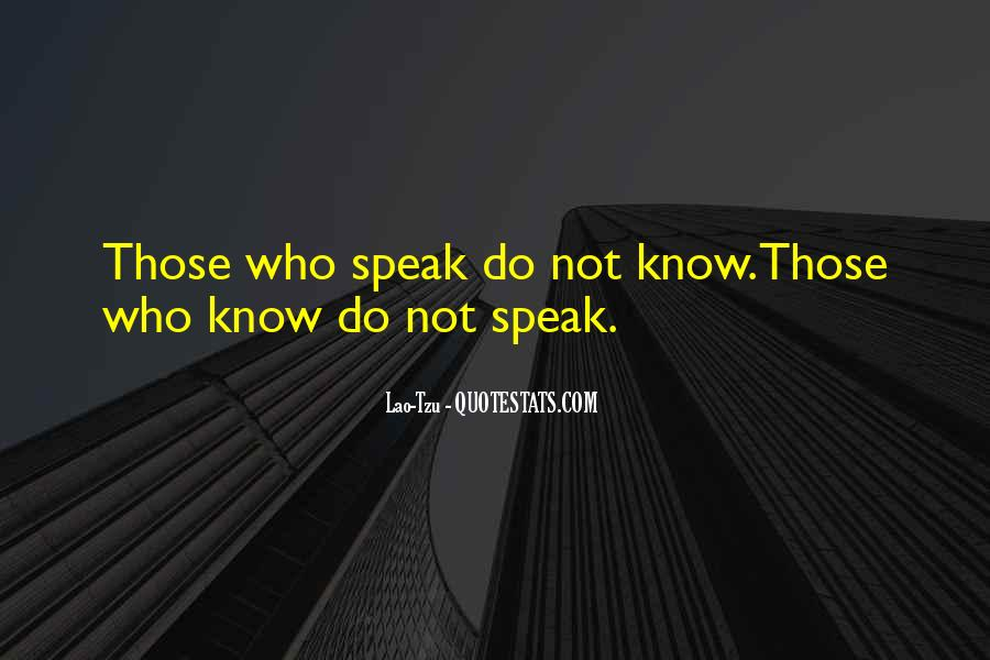 Speak Up For What You Believe In Quotes #9209