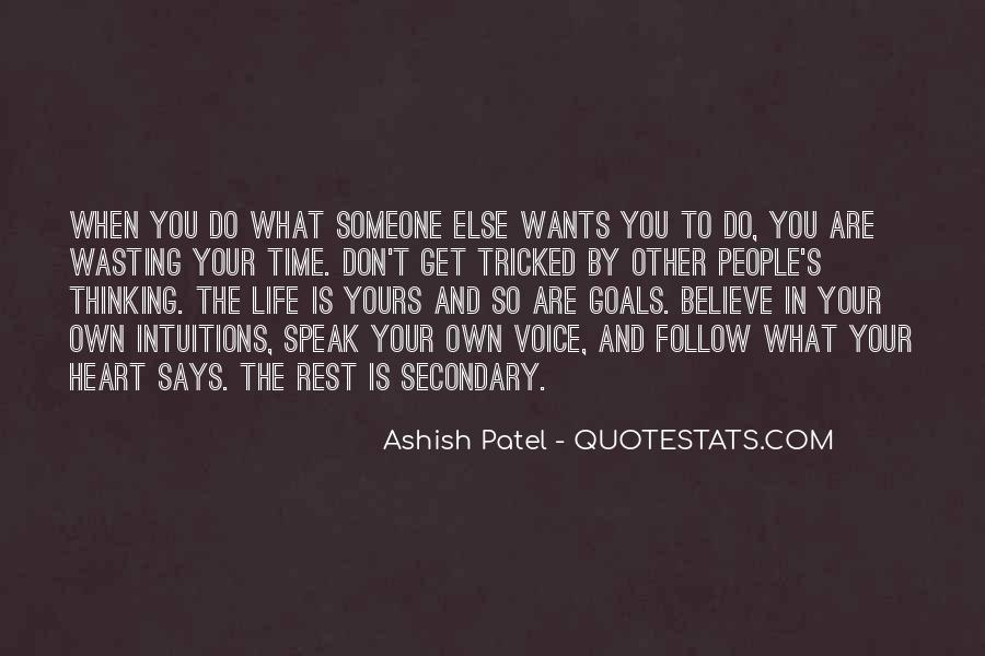 Speak What You Believe Quotes #1854483