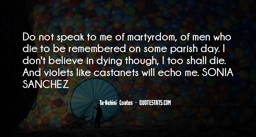 Speak What You Believe Quotes #341741