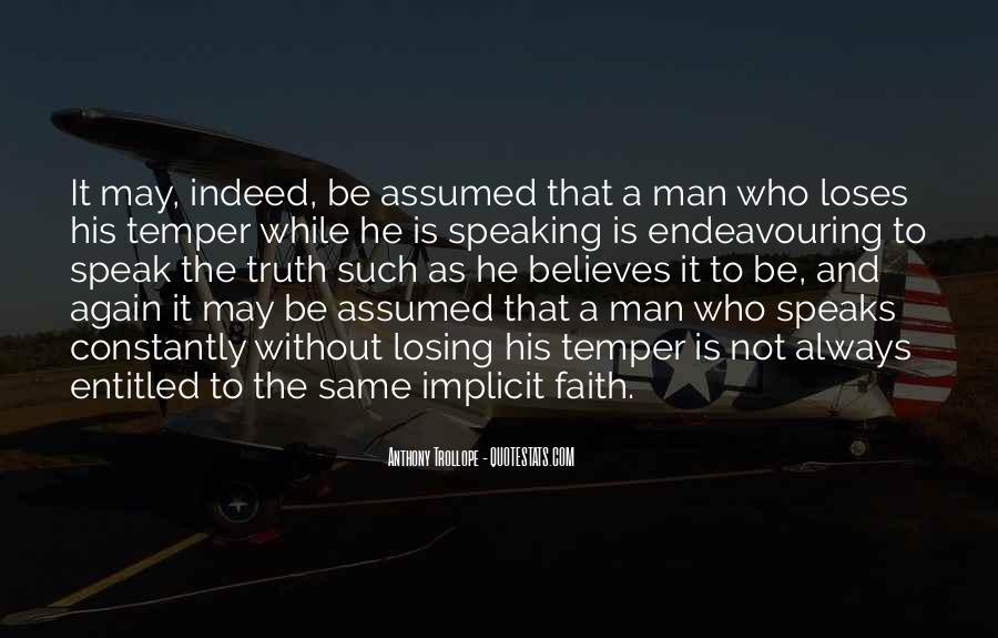 Speak What You Believe Quotes #373087