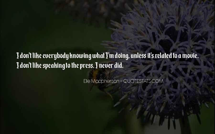 Speaking Without Knowing Quotes #538170