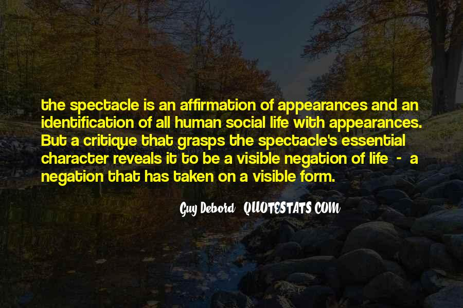 Spectacle Quotes #83498