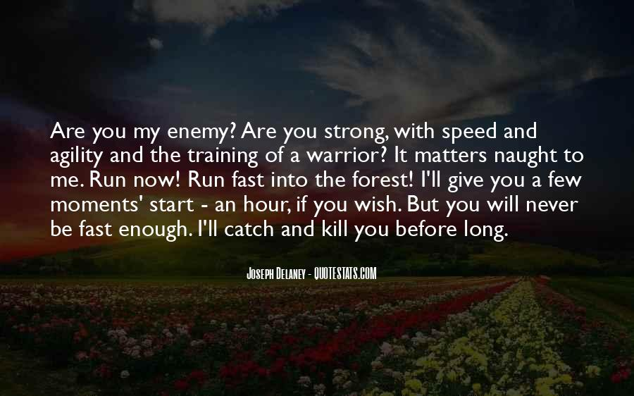 Speed Agility Quotes #712772