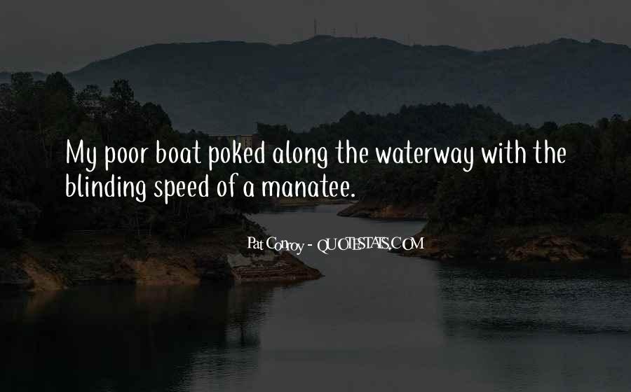 Speed Boat Quotes #1669570