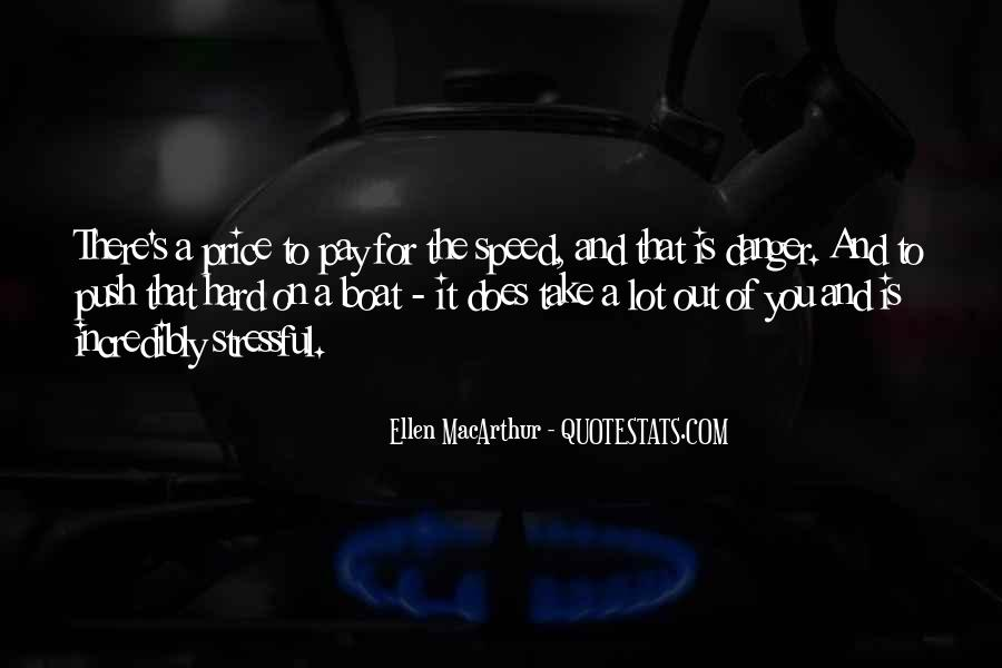 Speed Boat Quotes #1785158