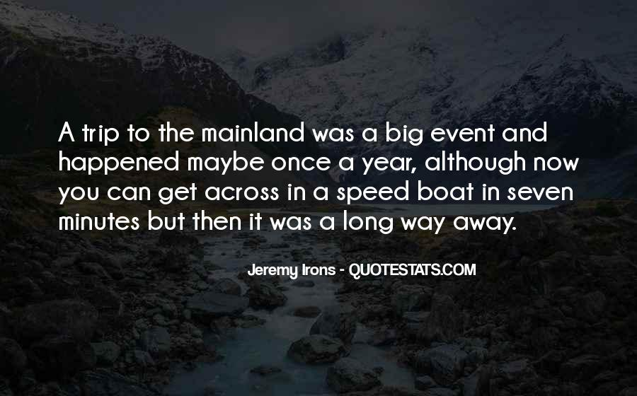 Speed Boat Quotes #233882