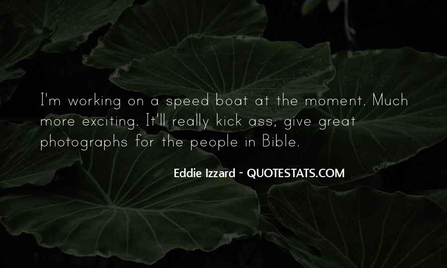 Speed Boat Quotes #30356