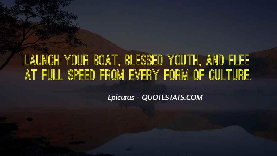 Speed Boat Quotes #348587