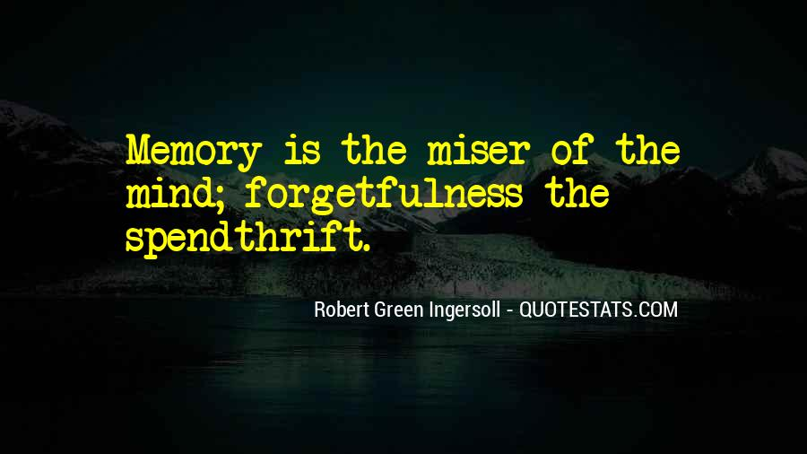 Spendthrift Quotes #1667694
