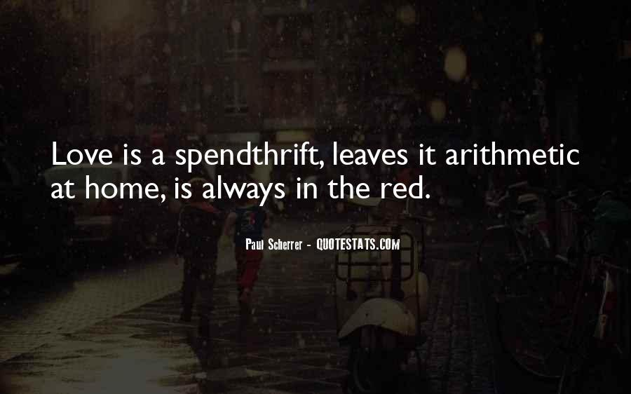 Spendthrift Quotes #857403