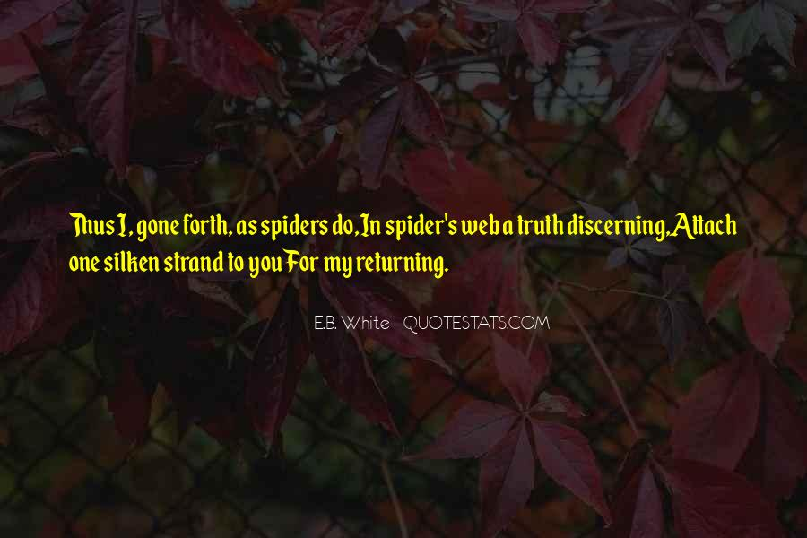 Spider's Web Quotes #1074404