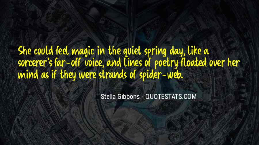 Spider's Web Quotes #1272000