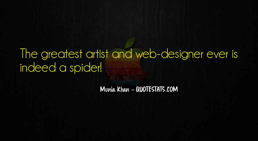 Spider's Web Quotes #1291148