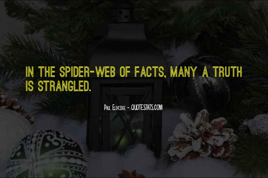 Spider's Web Quotes #140486