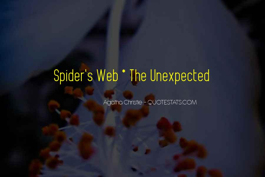 Spider's Web Quotes #1435510