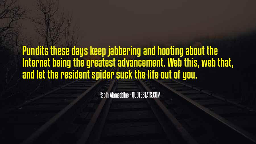 Spider's Web Quotes #1587486