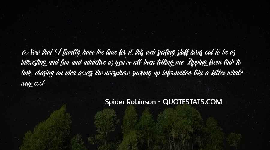 Spider's Web Quotes #1654939