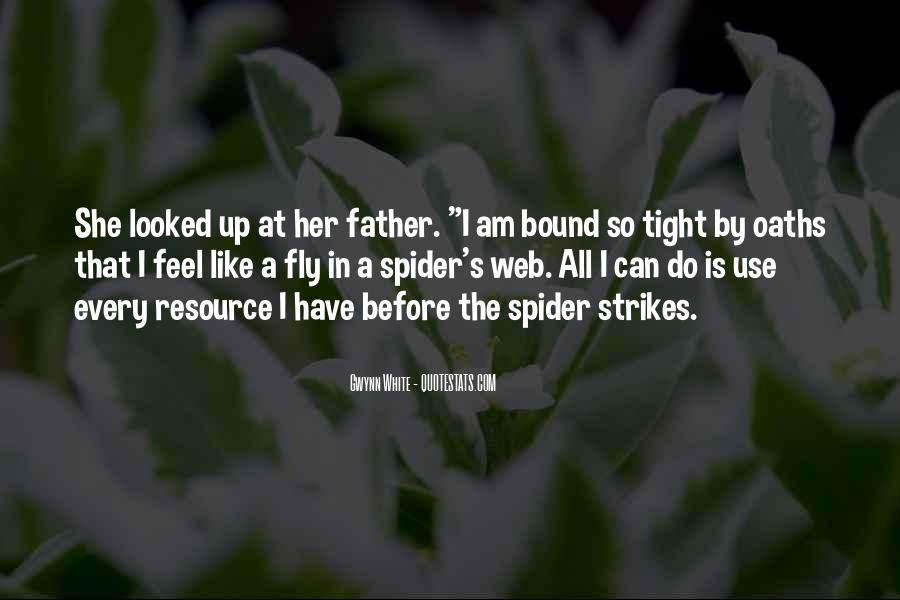 Spider's Web Quotes #1678309