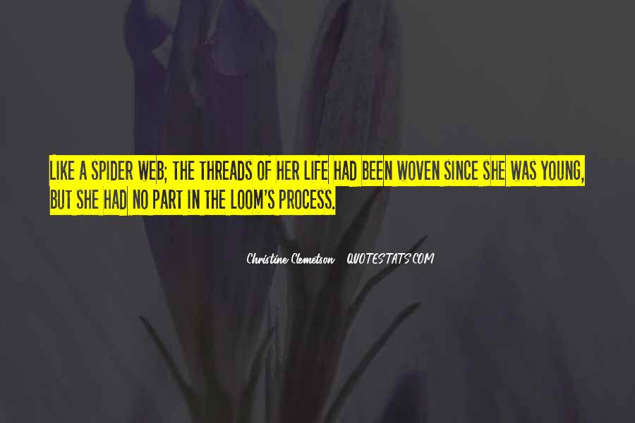 Spider's Web Quotes #1714322