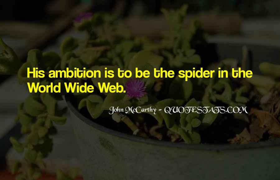 Spider's Web Quotes #179342