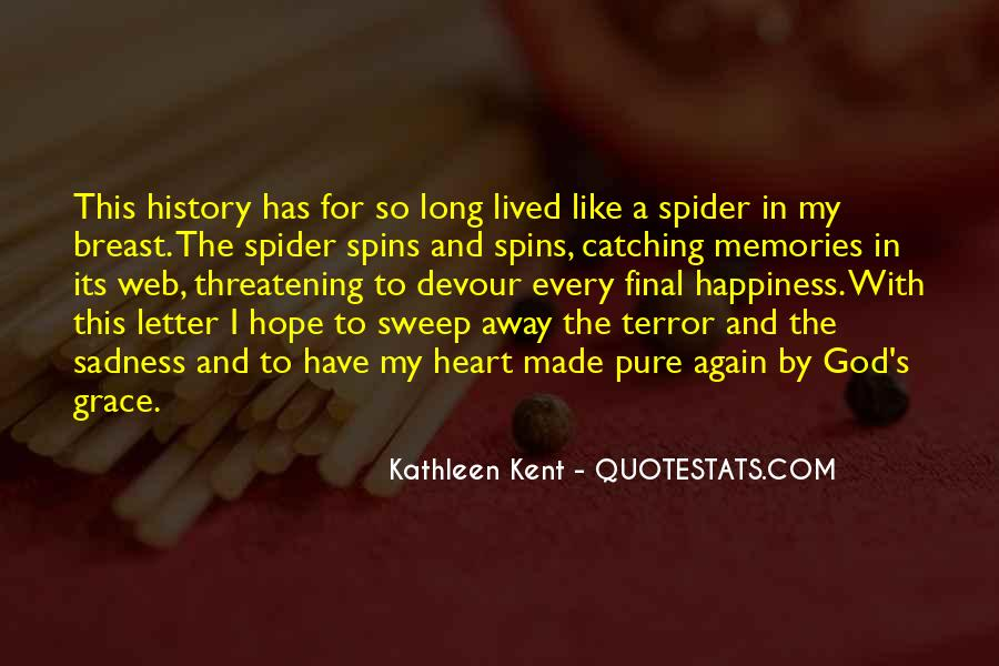 Spider's Web Quotes #1843668