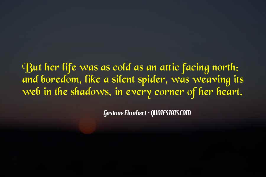Spider's Web Quotes #238932