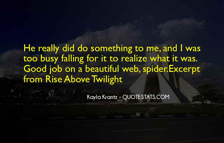 Spider's Web Quotes #244124