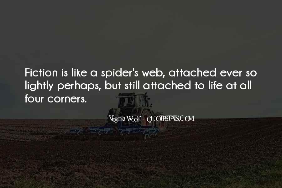 Spider's Web Quotes #265725