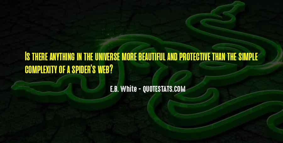 Spider's Web Quotes #490370