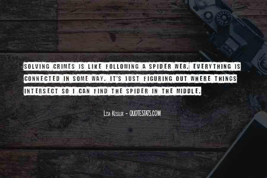 Spider's Web Quotes #609739