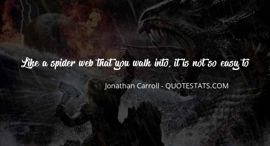 Spider's Web Quotes #701595