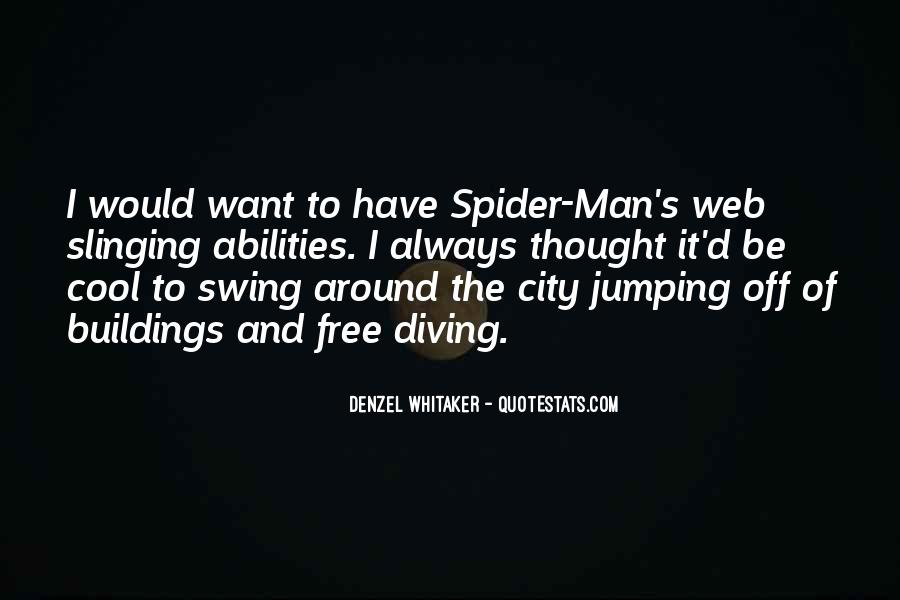Spider's Web Quotes #890787