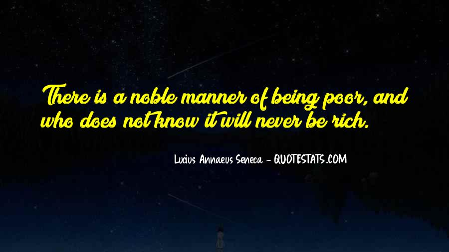 Quotes About Being Noble #1066947