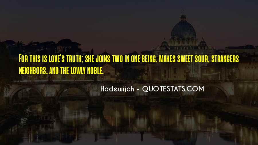 Quotes About Being Noble #1094045