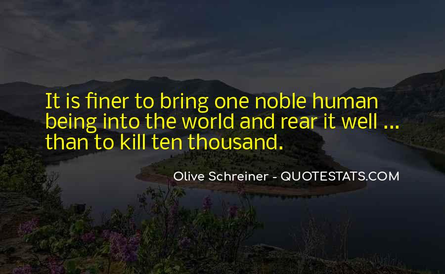 Quotes About Being Noble #1619373