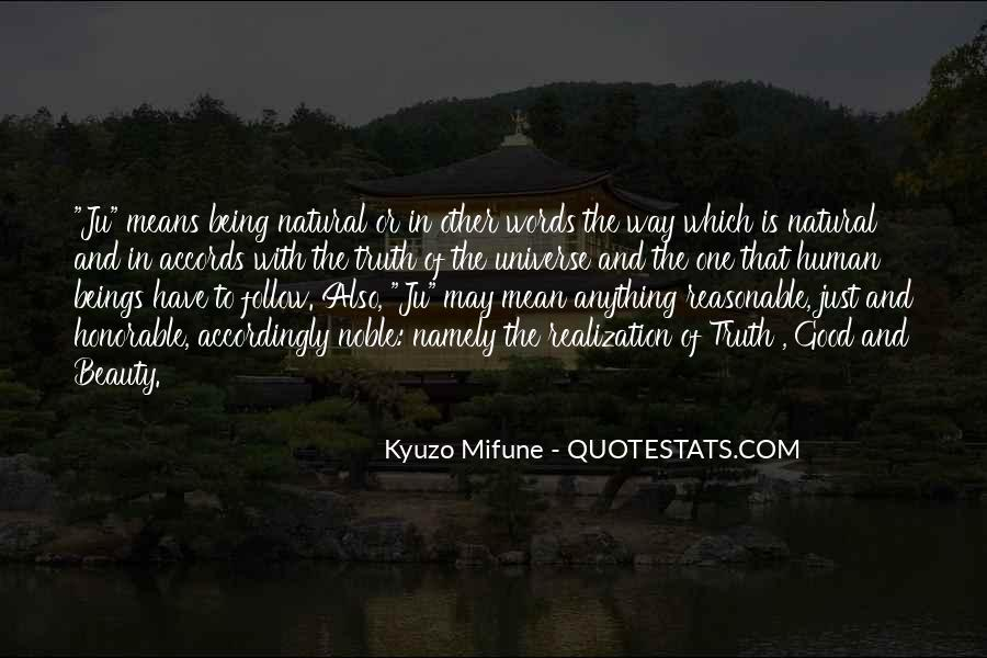 Quotes About Being Noble #394548
