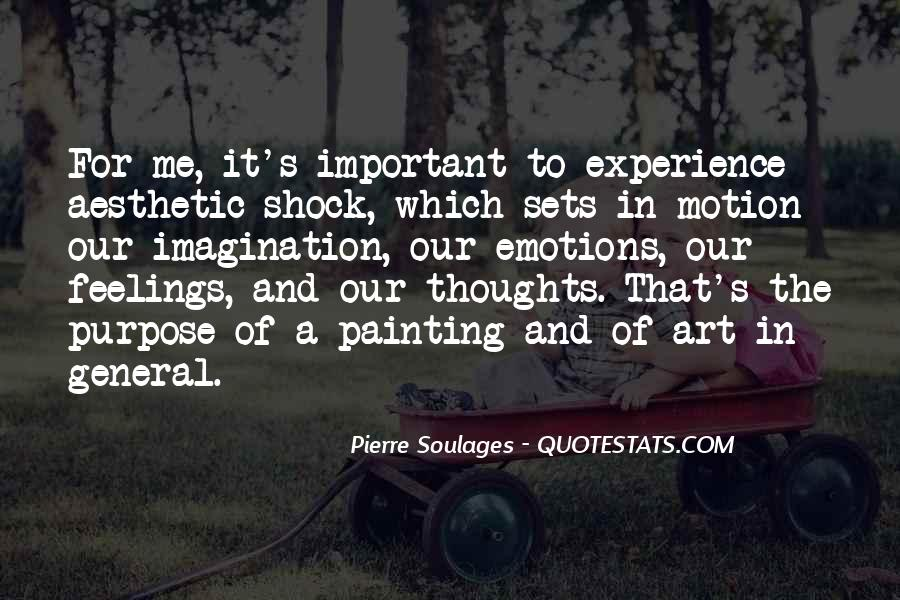 Quotes About Aesthetic Experience #100445