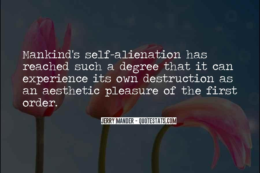 Quotes About Aesthetic Experience #1600435