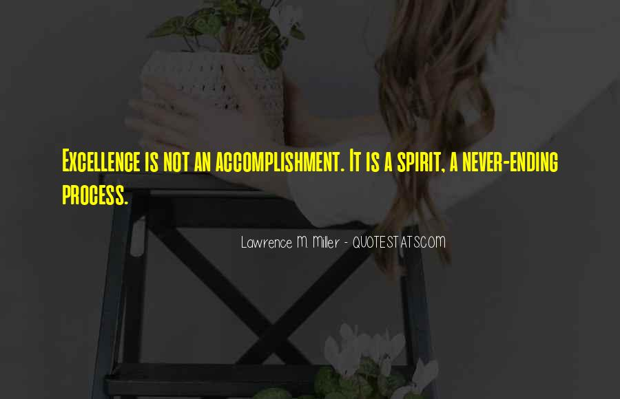 Spirit Of Excellence Quotes #455945