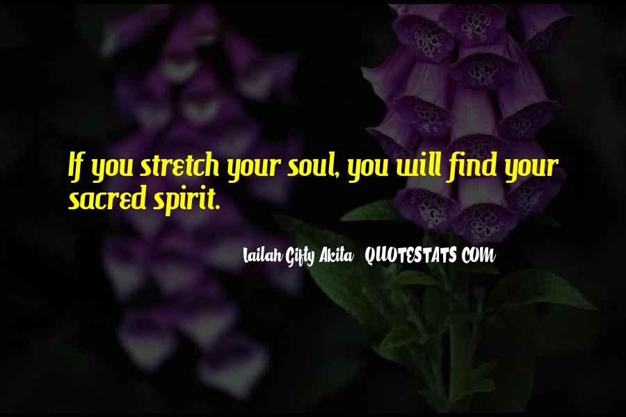 Spirit Of Life Quotes #118195