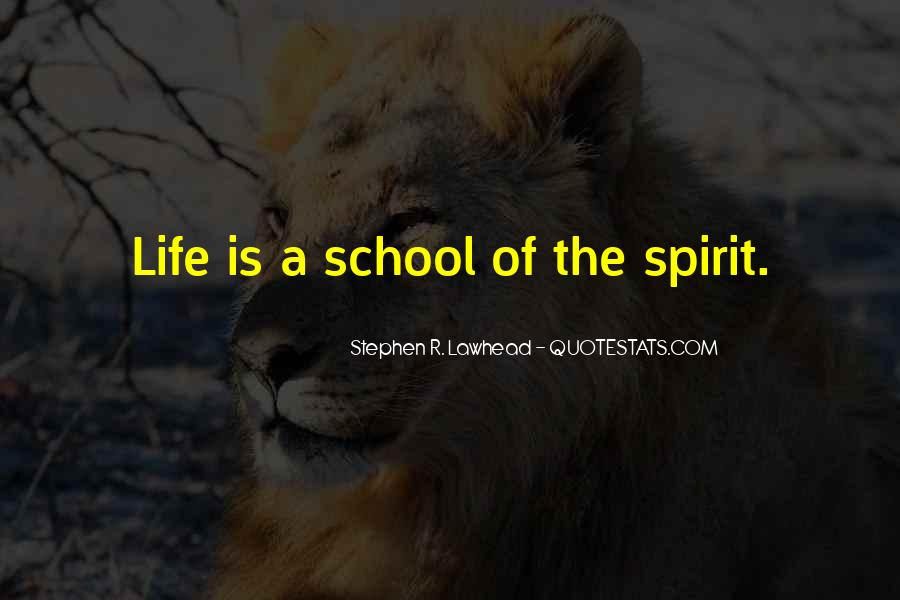 Spirit Of Life Quotes #119547